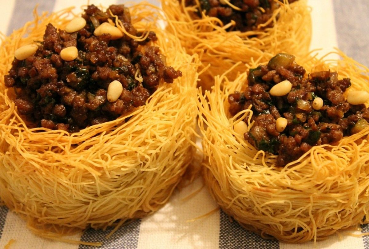 Kataifi Nests Recipes Oriental Pastry Products Ppo